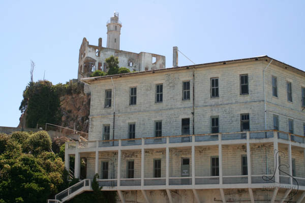 View of Alcatraz Lighthouse