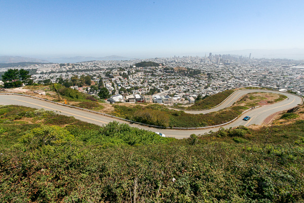 View from Twin Peaks San Francisco