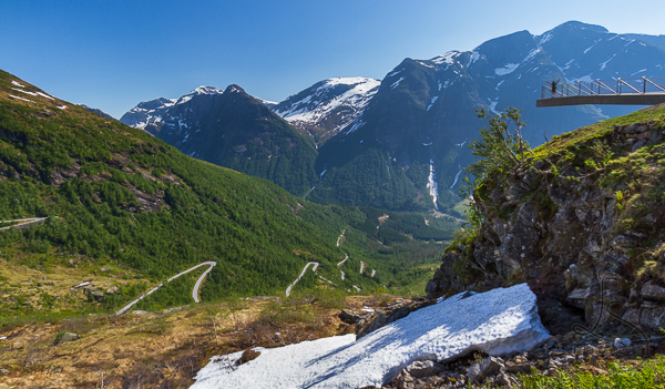 Epic Mountain Viewpoint Norway