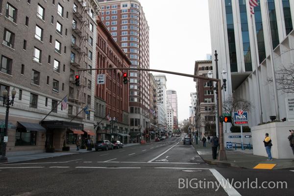 Broadway Street Portland Oregon
