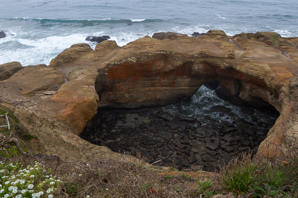 Devils Punchbowl Newport Oregon