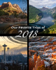 Our Favorite Trips of 2018 | BIG tiny World Travel | We obviously love to travel, and we can't just sit at home while we prepare for our Big Trip - so we still travel in the meantime! Click to see our favorite trips from 2018 - where we went, and why we loved the destinations! | #travel #coupletravel #nationalparks #scandinavia #ustravel