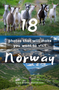 18 Photos That Will Make You Want to Visit Norway | BIG tiny World Travel | Norway is chock full of amazing sights!  These 18 photos are sure to make you anxious to visit this beautiful Scandinavian country for yourself! | #travel #photography #Norway #Scandinavia #travelphotography