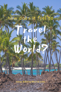 How does it feel to travel the world? | BIG tiny World Travel | There have been a lot of emotions leading up to our trip around the world. We're finally in the air... click to see how we feel about it! | #travel #travelplanning #travelanxiety #coupletravel