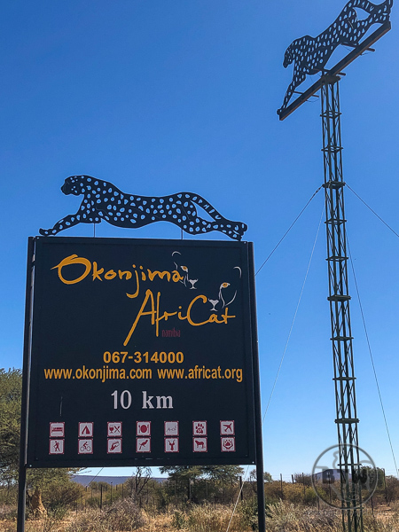 Africat Entry Sign