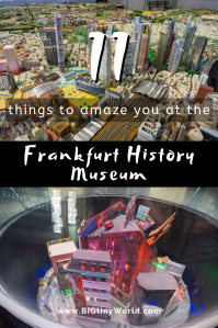 11 Things to Amaze You at the Frankfurt History Museum | BIG tiny World Travel | We didn't expect to spend all day at the Frankfurt History Museum, but with so many delightful exhibits, it was no wonder! Click to read all about it! | #visitfrankfurt #shadeadventures #museums #europetravel