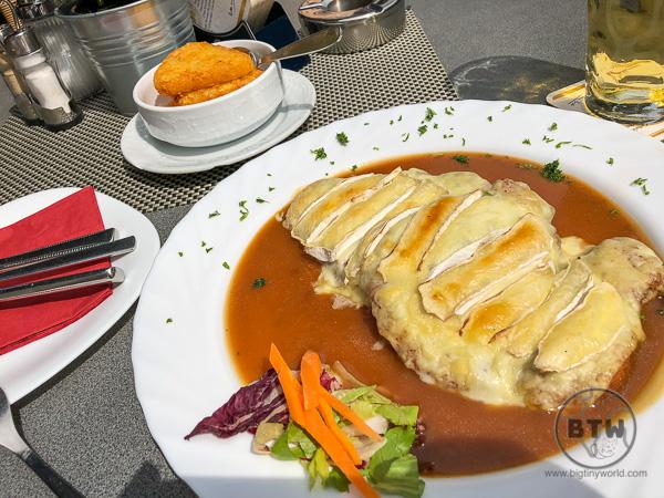 Schnitzel in Heidelberg Germany