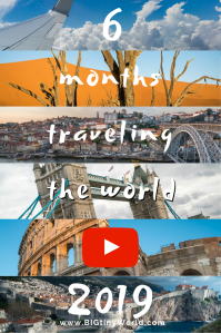 Our Year in Review 2019 | We've traveled through 11 countries in our first 6 months on the road. Here is a recap of the places we have been and a video telling our travel story. |BIG tiny World Travel | #longtermtravel #travelvideo #worldwidetravel #shadeadventures