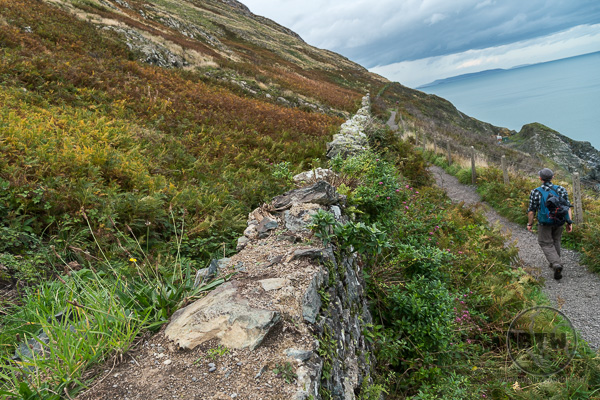 Hike from Greystones to Bray Ireland