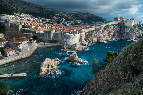 Dubrovnik Old City View from Fortress