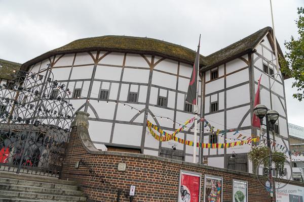 Globe Theatre London William Shakespeare